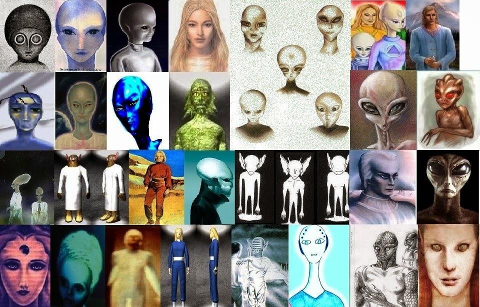 57 races d extraterrestres