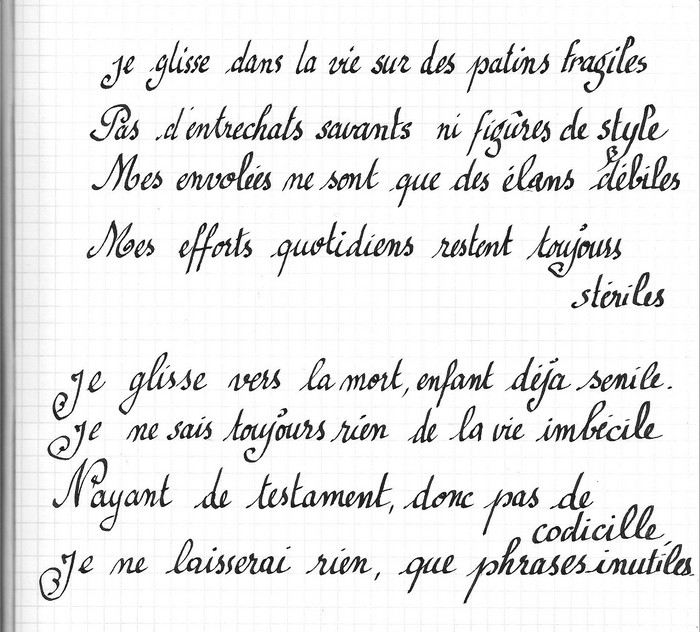 ancien poeme