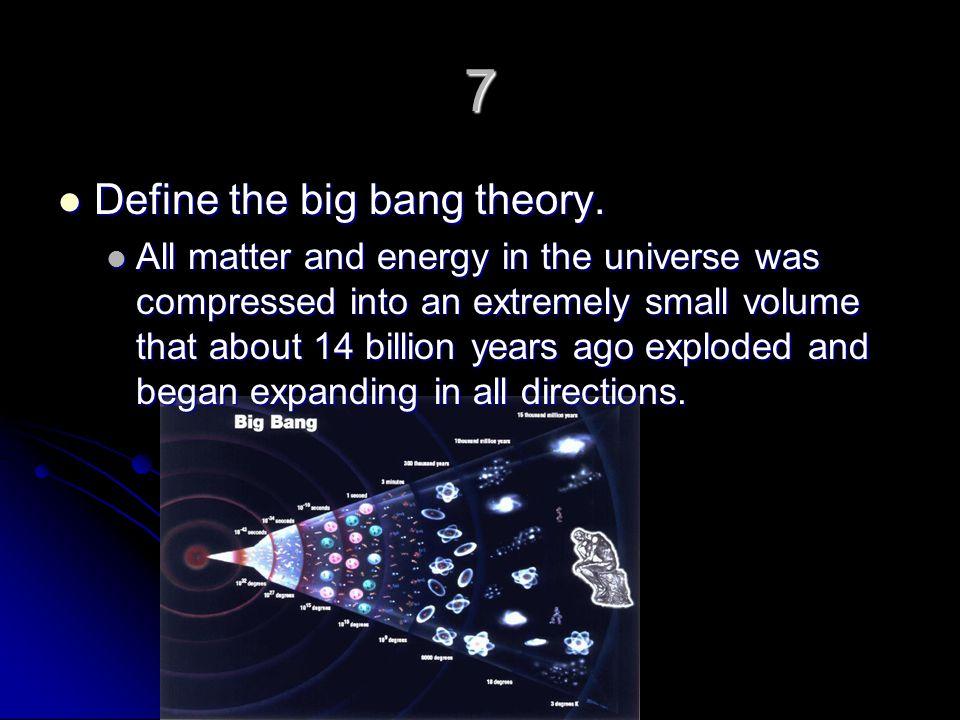 big bang definition