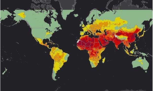 carte pollution