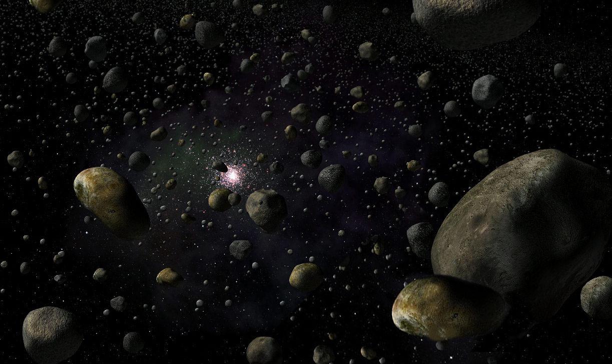 ceinture d asteroide