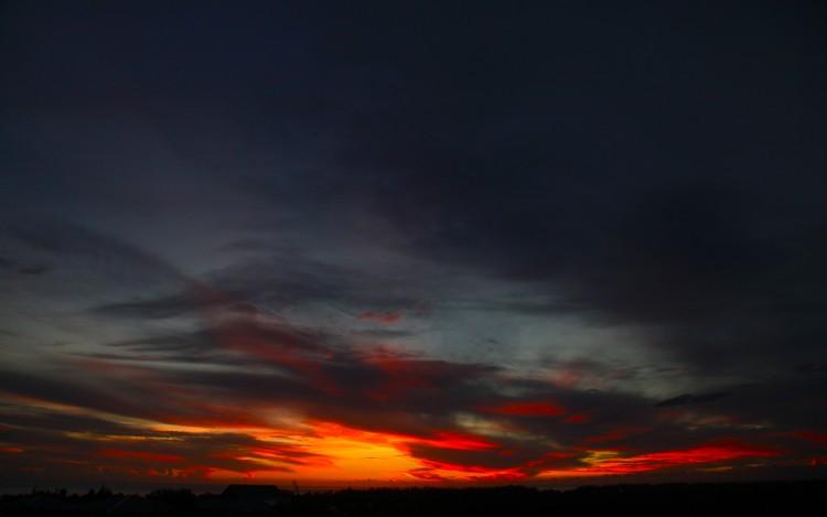 ciel et noir