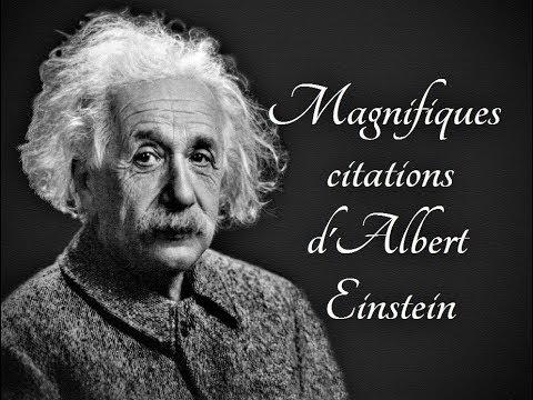 citation d einstein