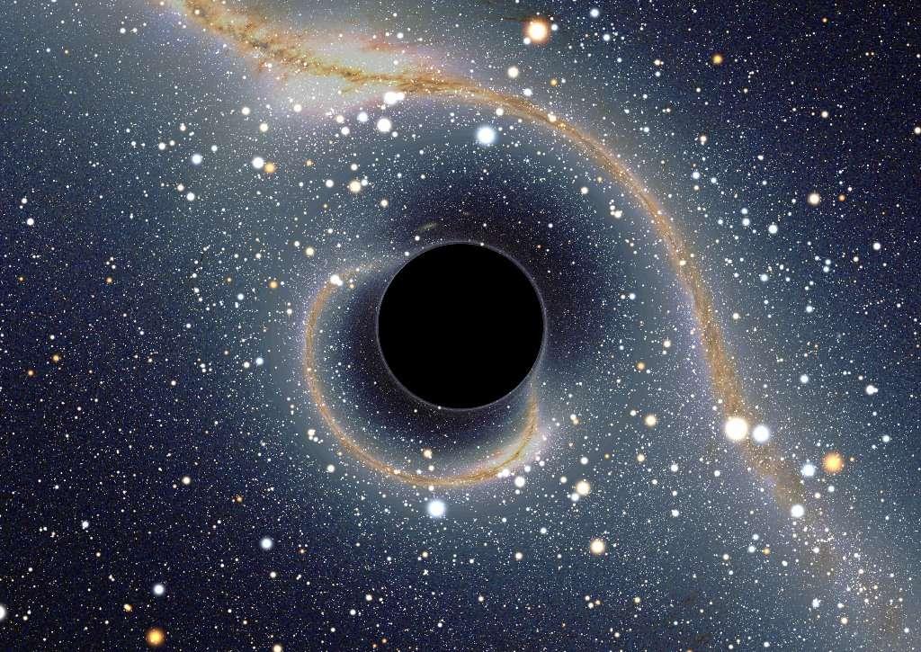 comment se forme un trou noir