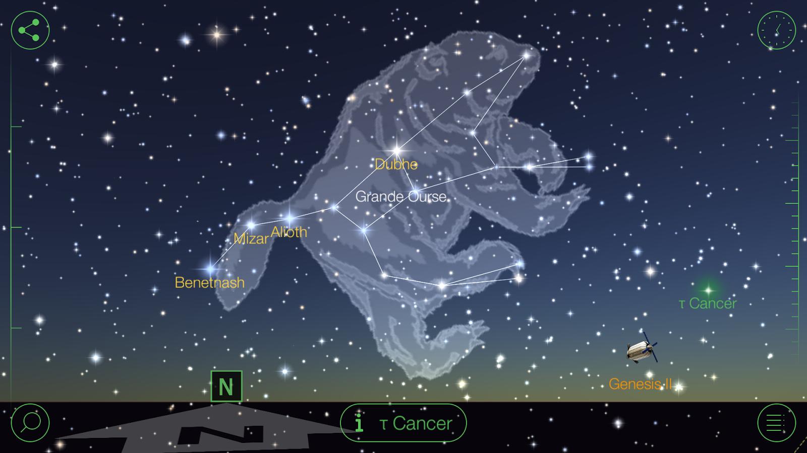 constellations etoiles