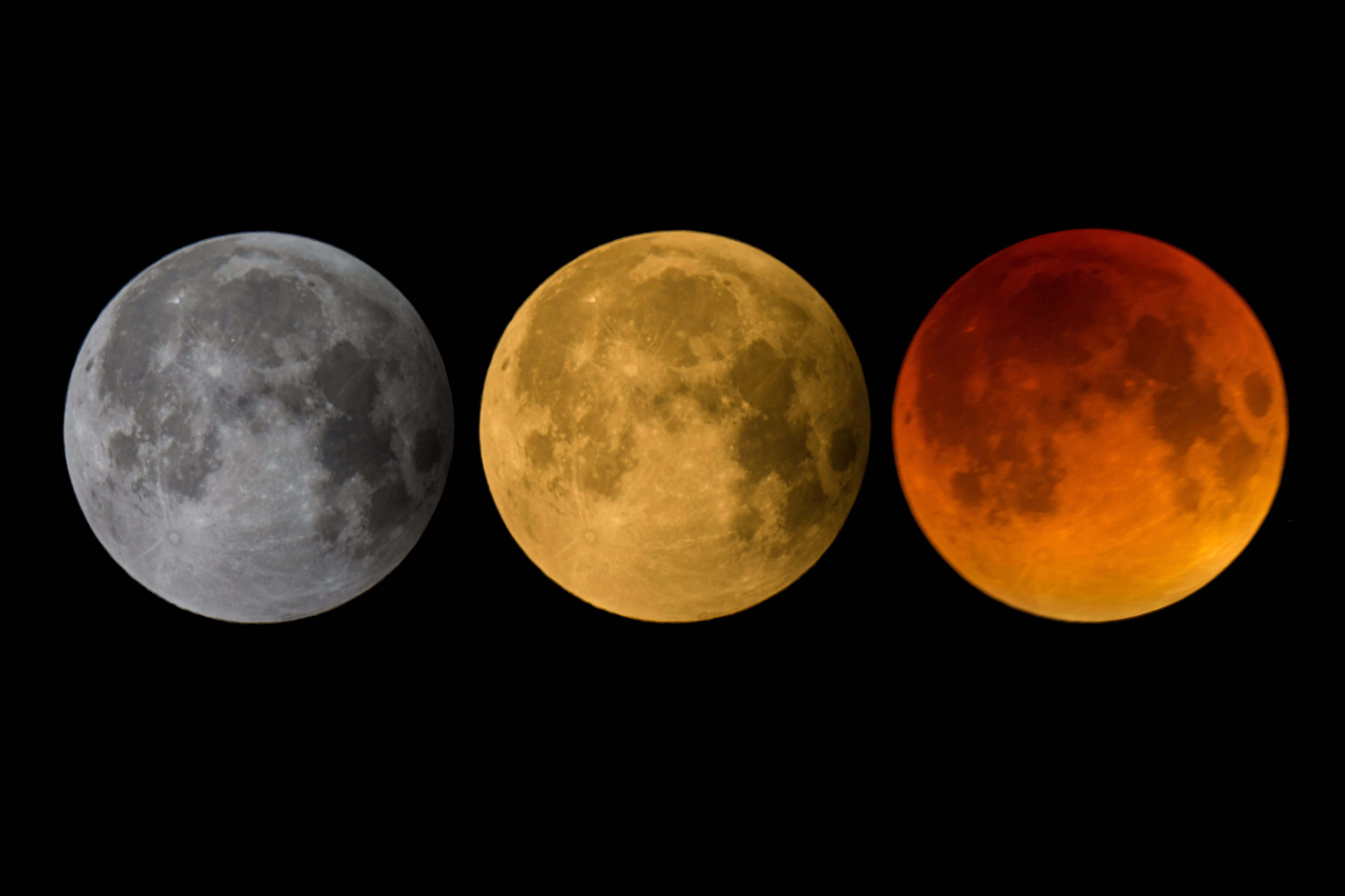 couleur de la lune