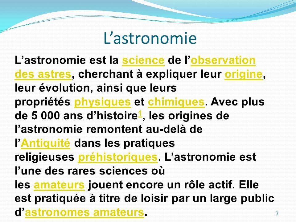 definition astronomie
