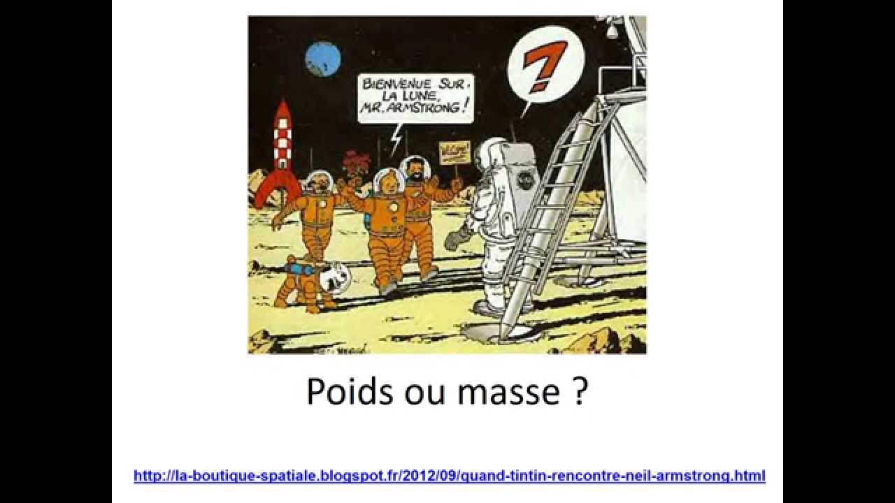 difference masse poids