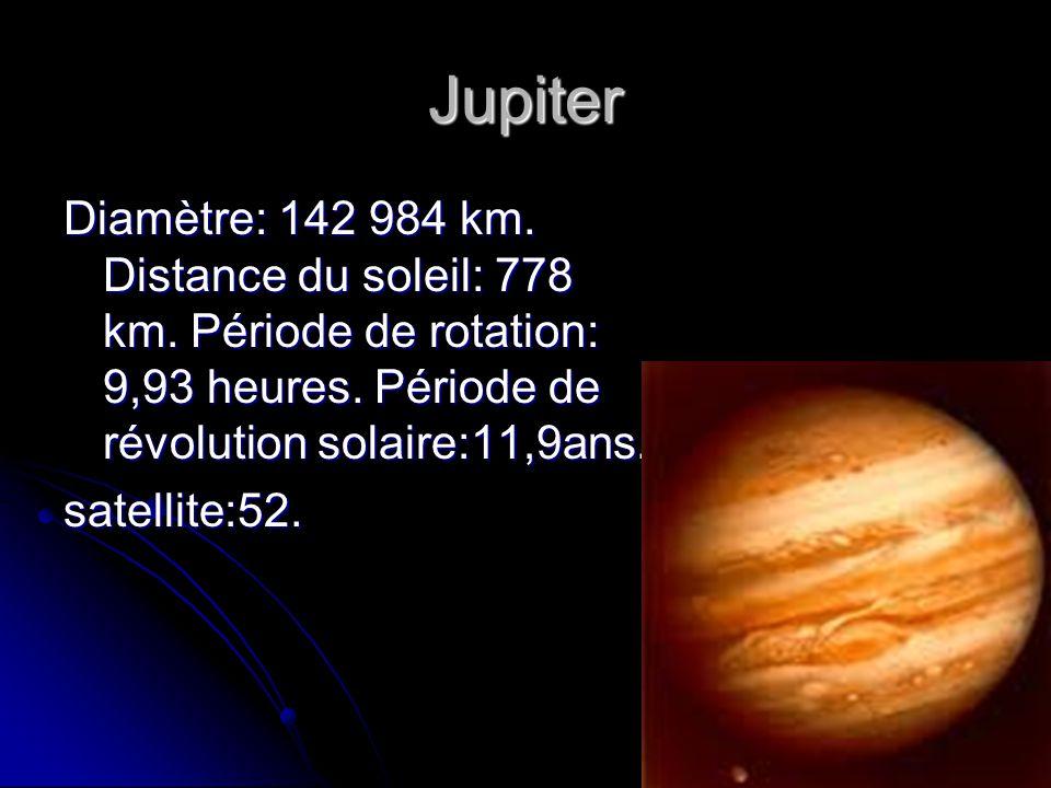 distance jupiter soleil