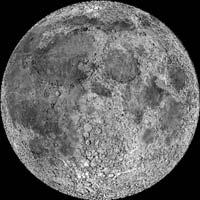 face de la lune