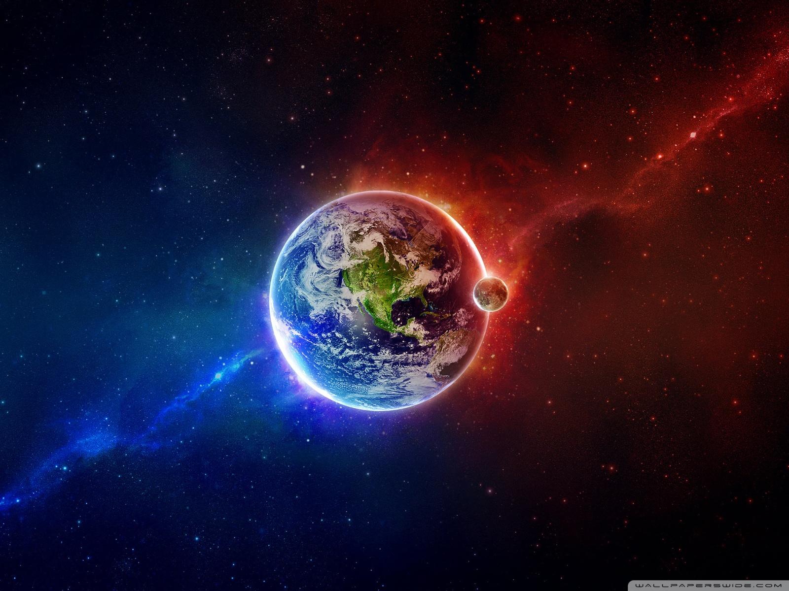 fond ecran planete