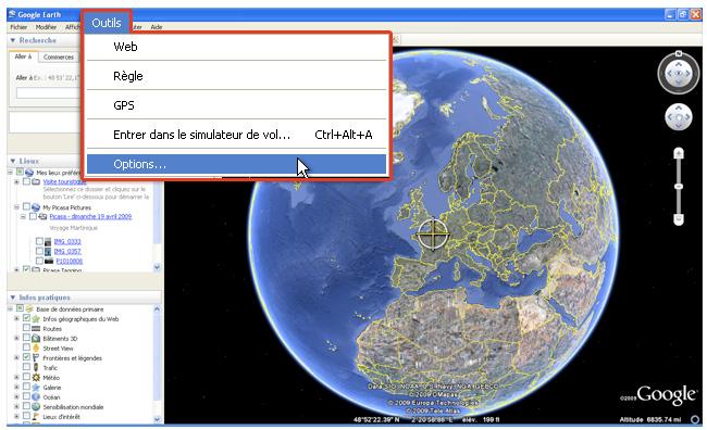 google earth en ligne sans telechargement