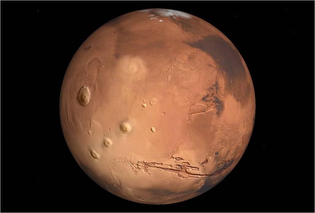 image de la planete mars