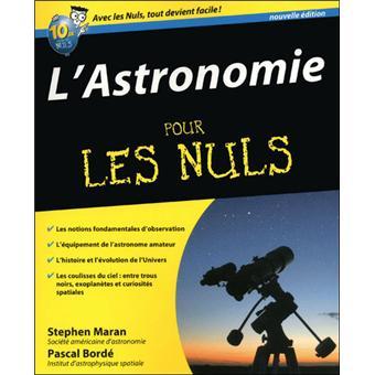 l astronomie pour les nuls