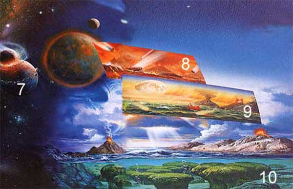 la naissance de la terre