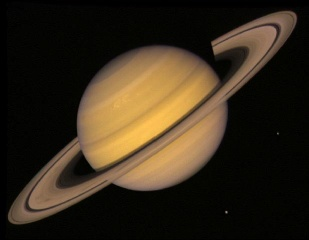 la planete saturne
