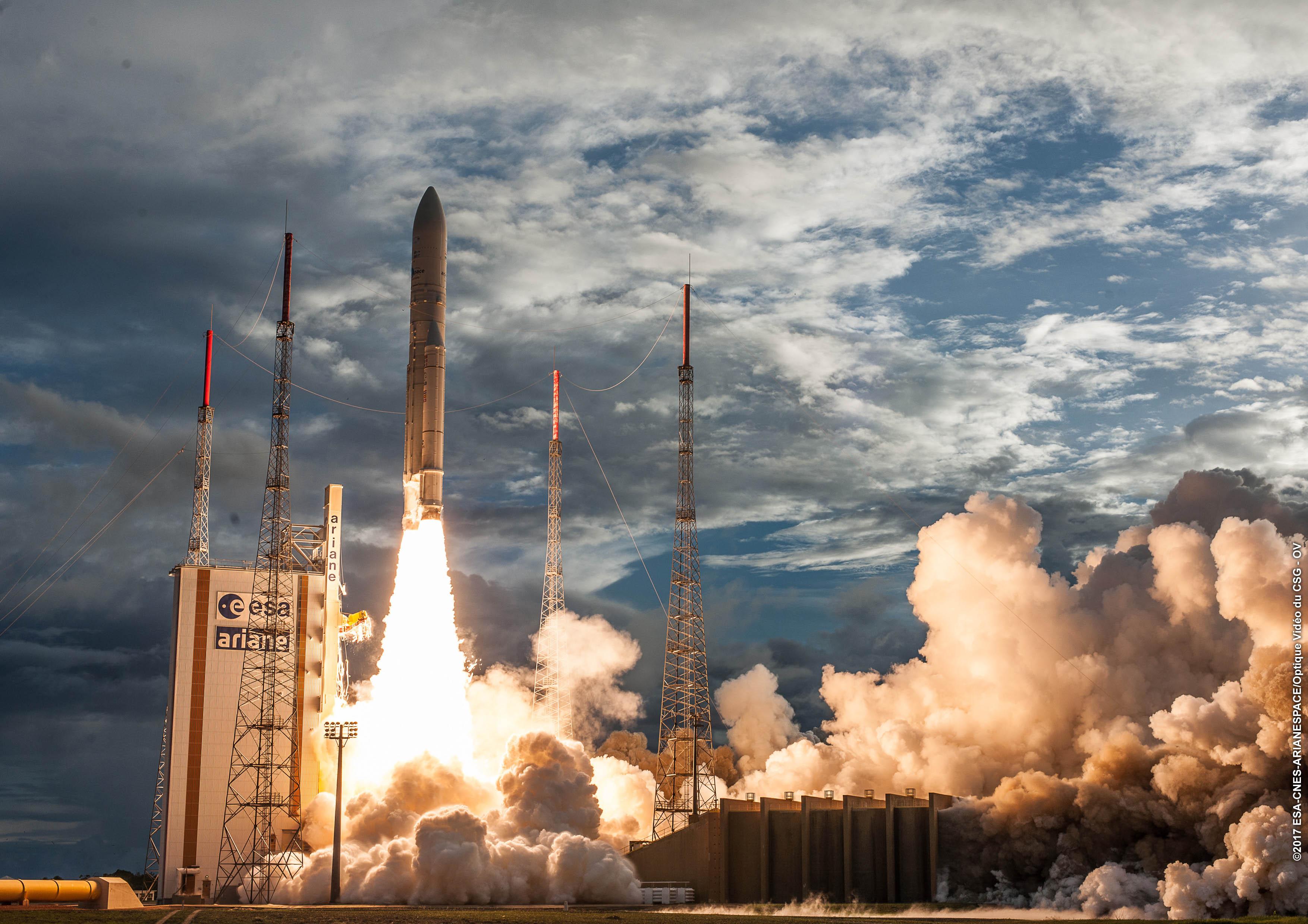lancement ariane 5 en direct