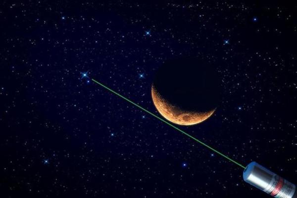 laser astronomie