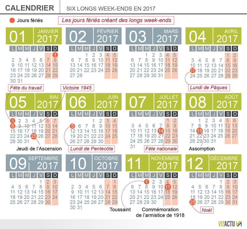 les jours rallongent quand en 2017
