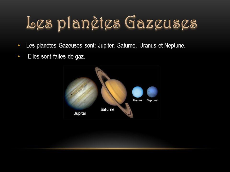 les planetes gazeuse