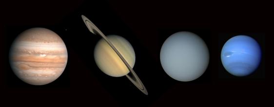 les planetes gazeuses