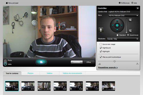 logiciel webcam