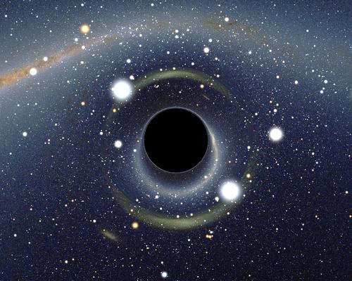 photo de trou noir