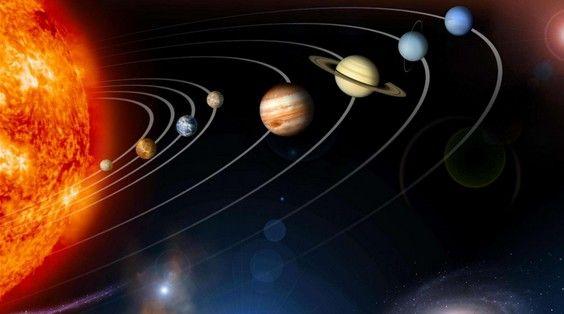 photo du systeme solaire