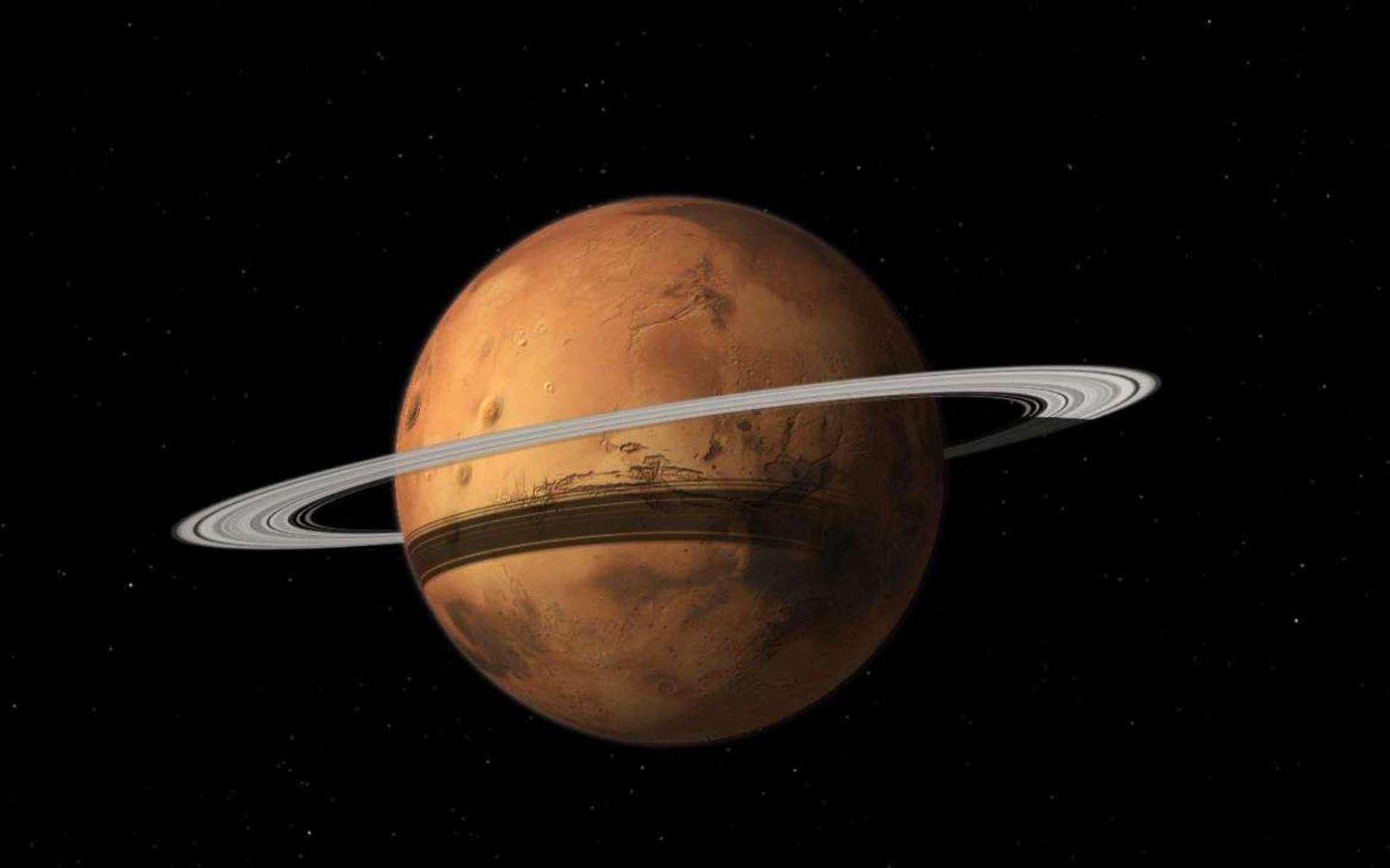 planete avec anneau