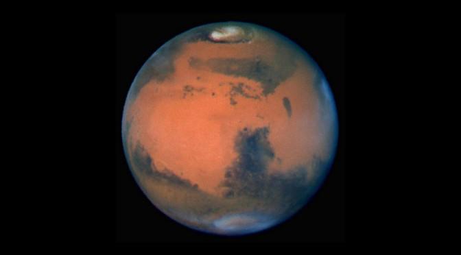 planete mars aout 2017
