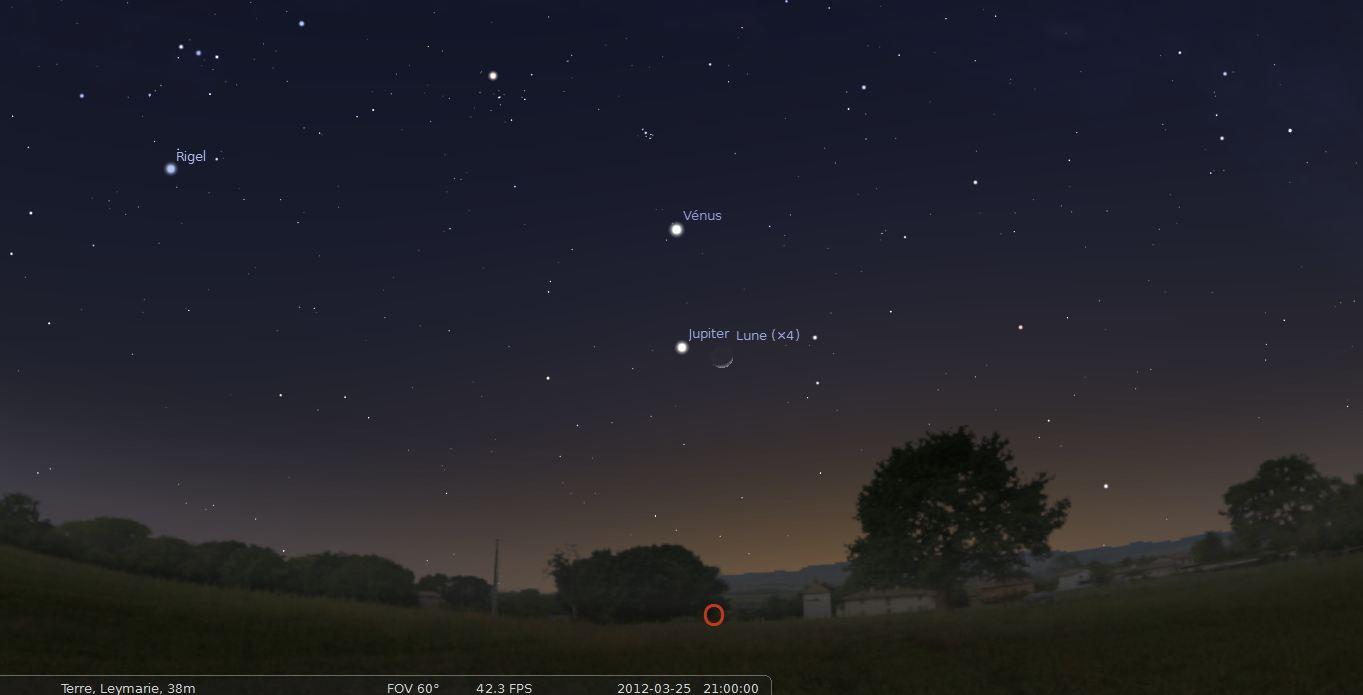 planete visible ce soir