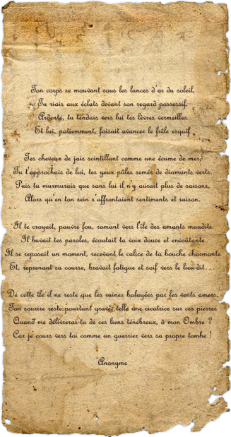poeme ancien