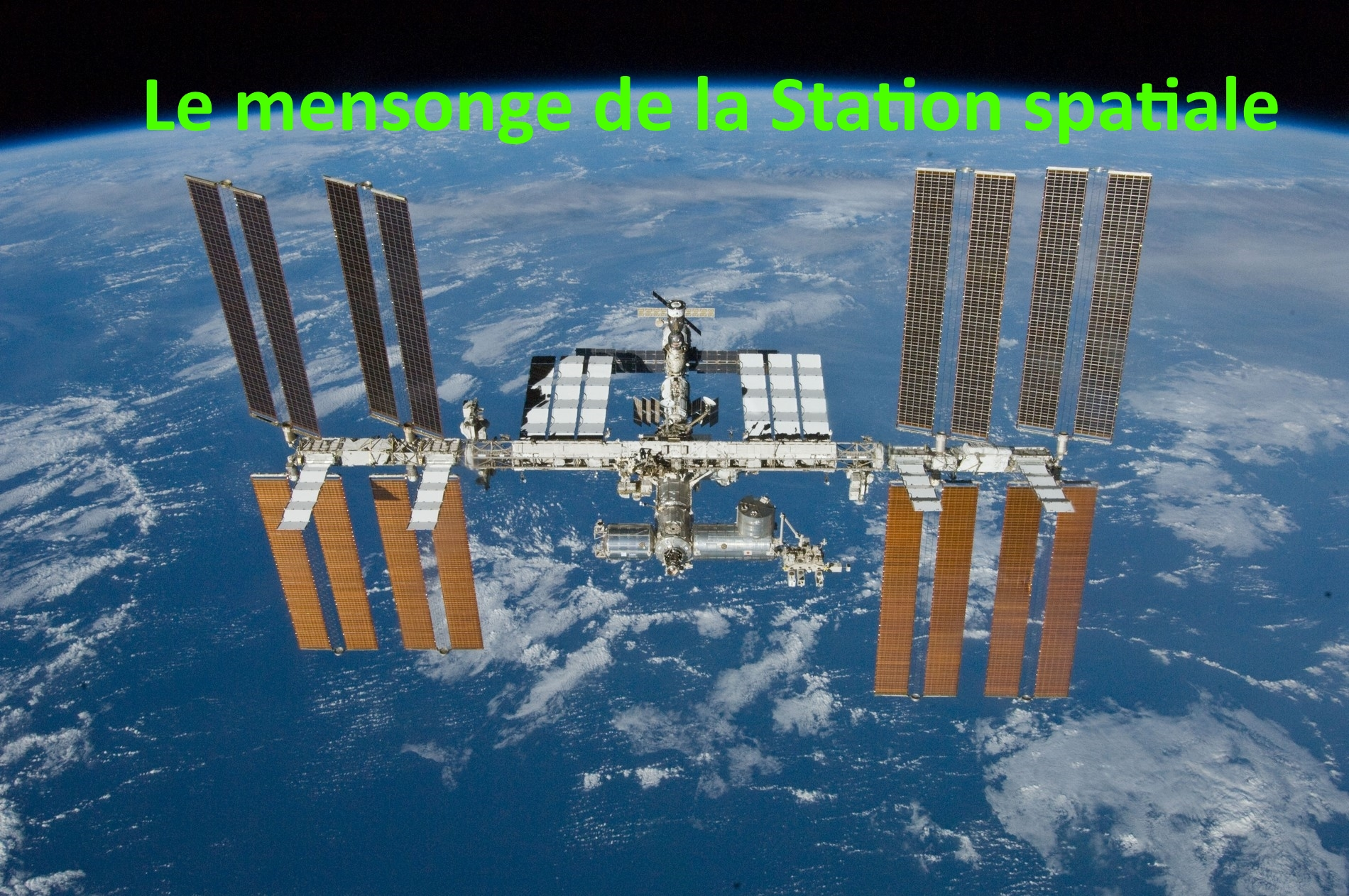 position station spatiale internationale