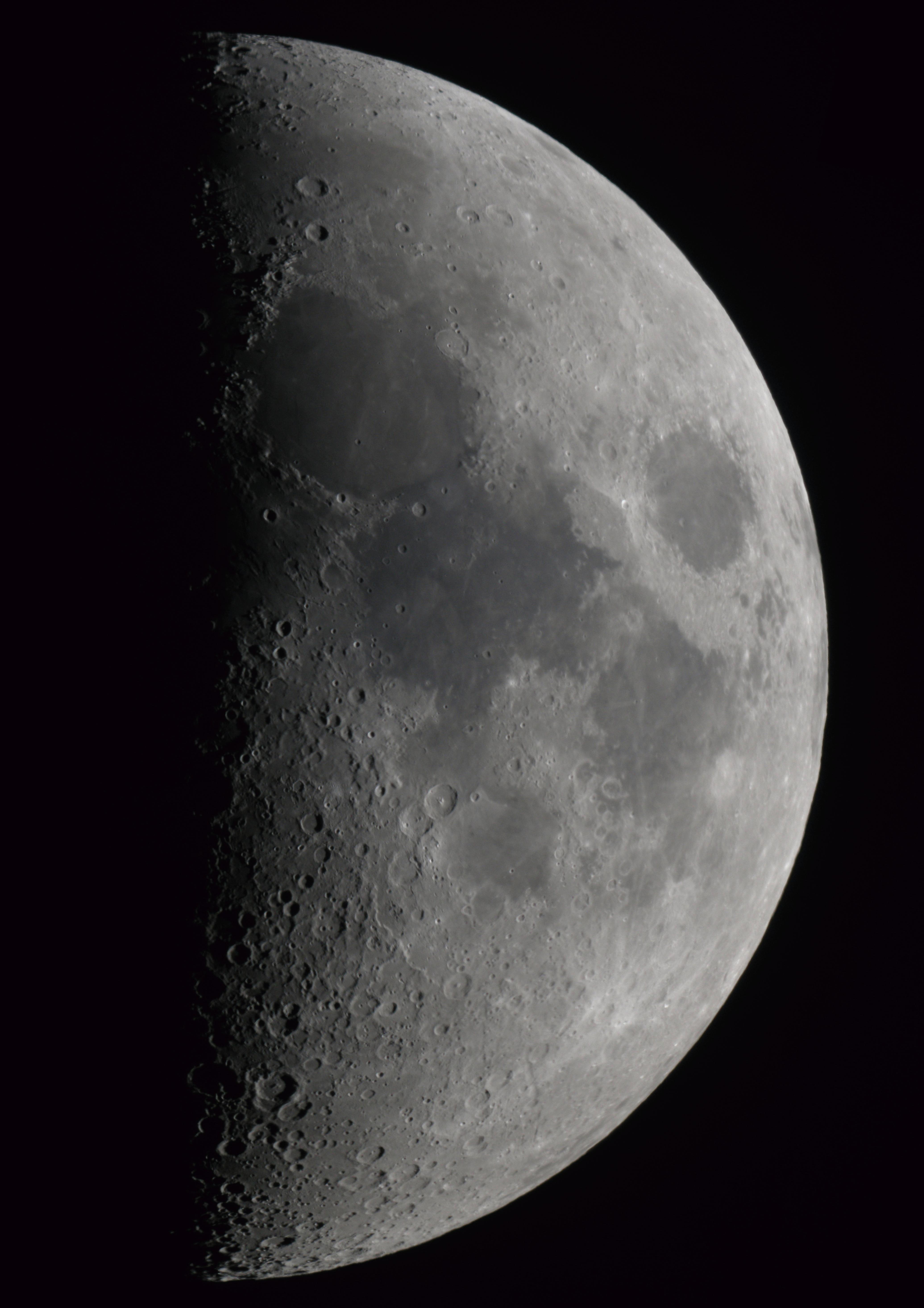 premier quartier de lune