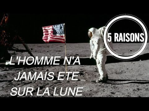 preuve que l homme a marche sur la lune