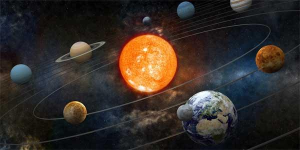qu est ce qui gravite autour de la terre