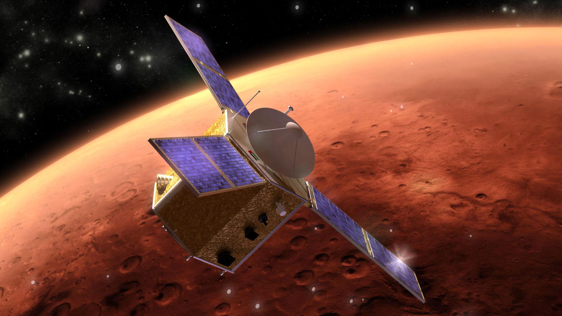 satellite de mars