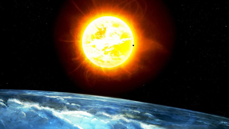 soleil planete