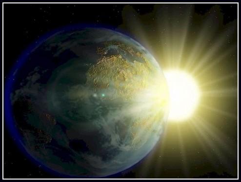 soleil tourne autour de la terre