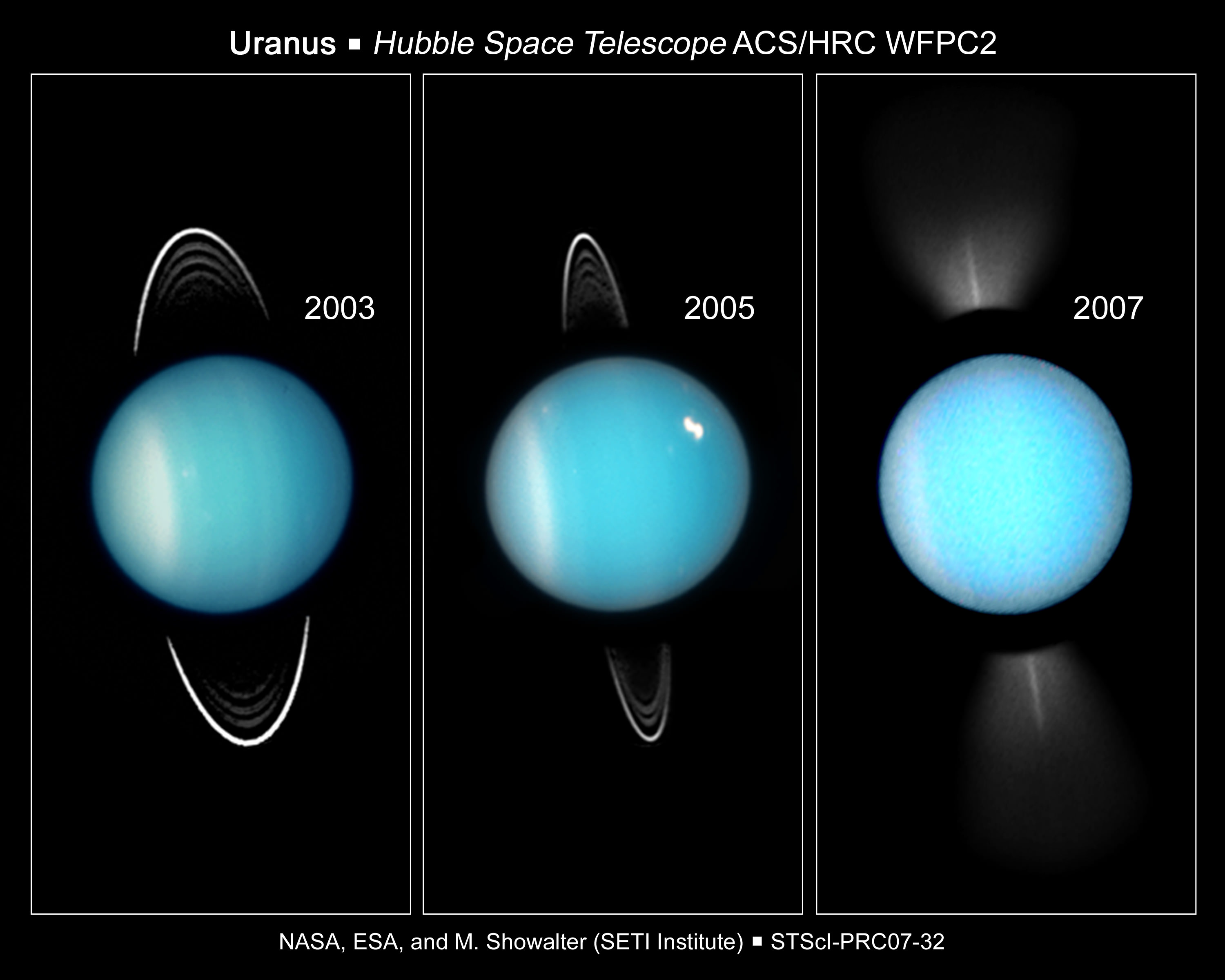 uranus temperature