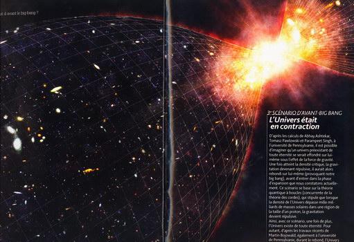 avant l univers