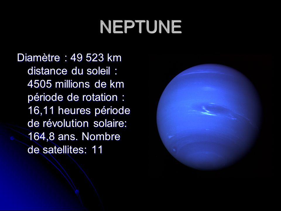 distance soleil neptune