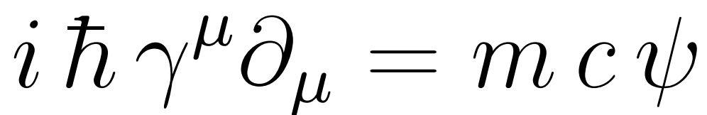 equation de dirac