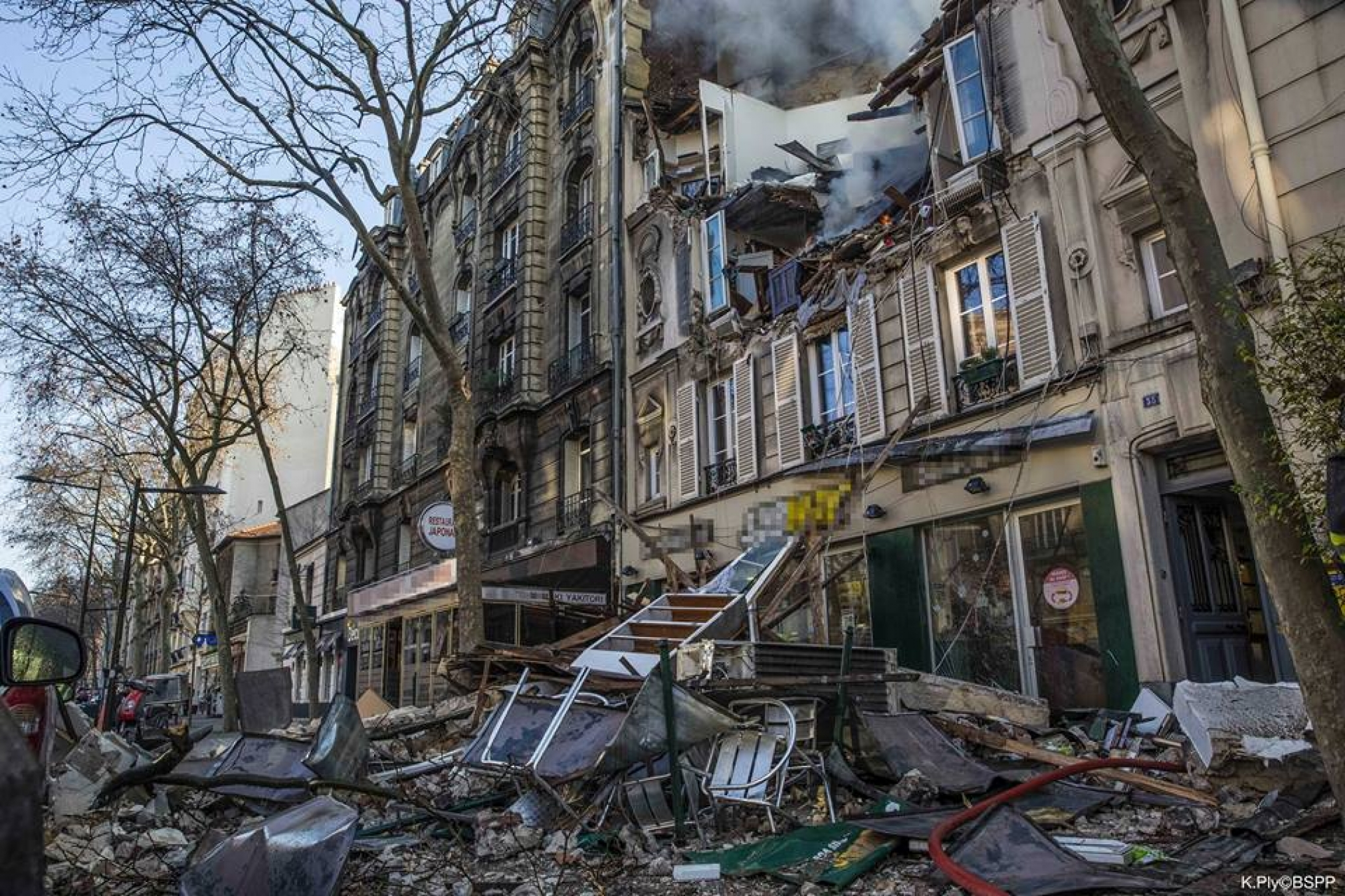 explosion boulogne billancourt