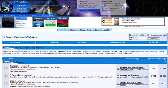 forum webastro