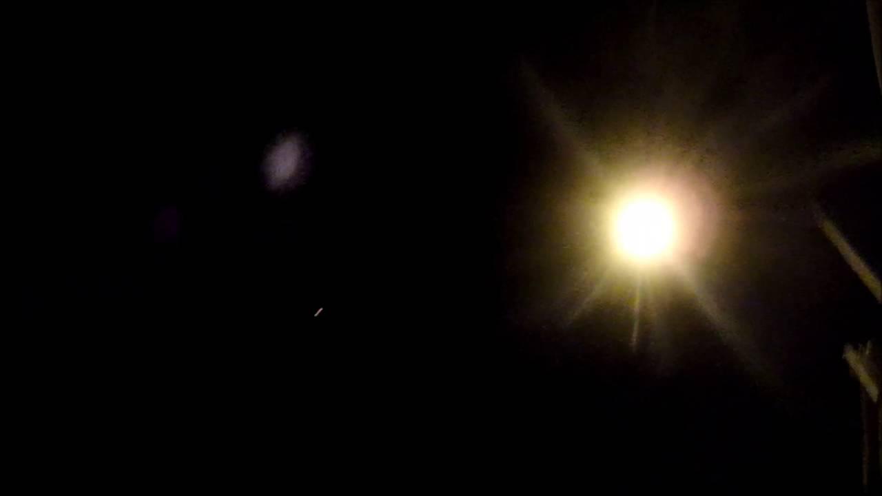 lumiere etrange dans le ciel hier soir 2017