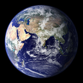 photo de la terre