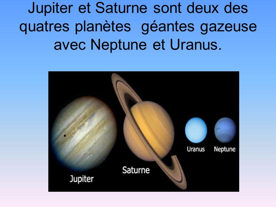 planetes gazeuses