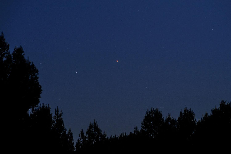 planetes visibles cette nuit