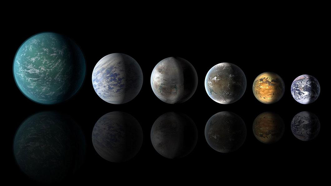 pourquoi les planetes sont rondes